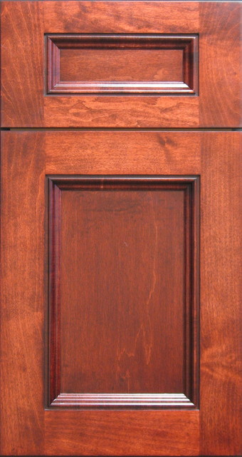 Eastern Maple Shaker Style Cabinet Door With Applied Inset