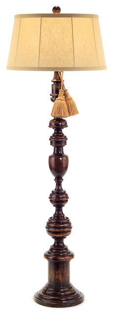Portuguese Turned Floor Lamp Farmhouse Floor Lamps by Bliss Home and De