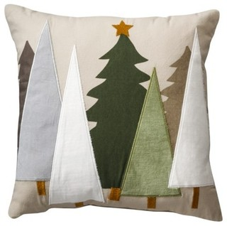 ... Felt Tree Toss Pillow - Contemporary - Decorative Pillows - by Target