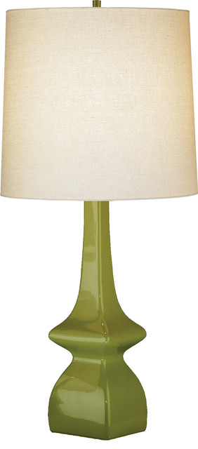 robert abbey jayne table lamp artichoke light beige contemporary