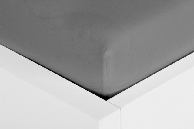 spannbettlaken jersey elastan anthrazit 100x200 bauhaus. Black Bedroom Furniture Sets. Home Design Ideas