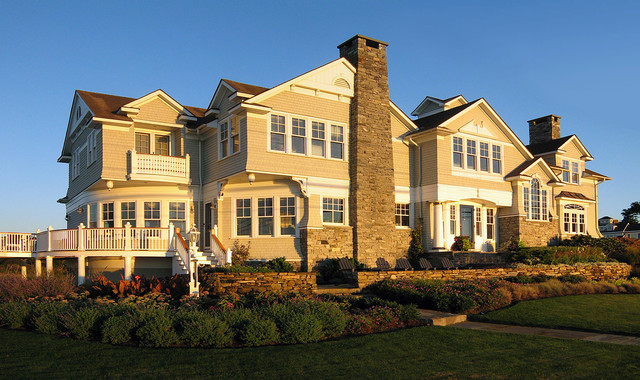 New england ocean front home cottage designs toronto for Ocean front home designs