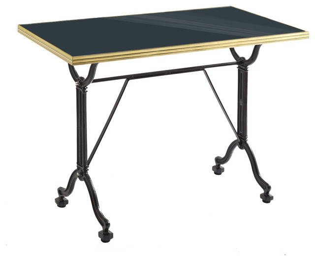 Gamme tradition bistrot table de repas maill e grand for Table exterieur metro
