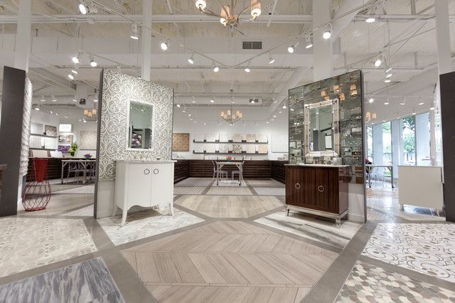 Artistic tile dallas kbis innovative showroom nominee Bathroom design showrooms houston