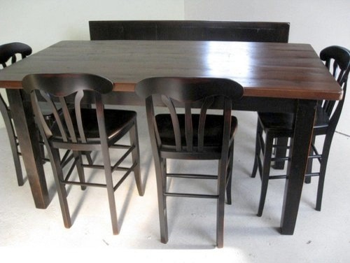pub style kitchen table farmhouse dining tables