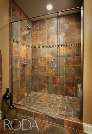 Bathroom designs roda shower enclosures by basco modern for Bathroom enclosure designs