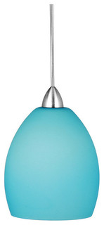 sarah 1 light pendant blue dark bronze modern pendant lighting