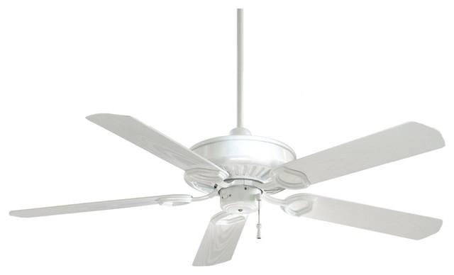54 Minka Aire White Sundowner Energy Star Ceiling Fan Beach Style Ceiling Fans