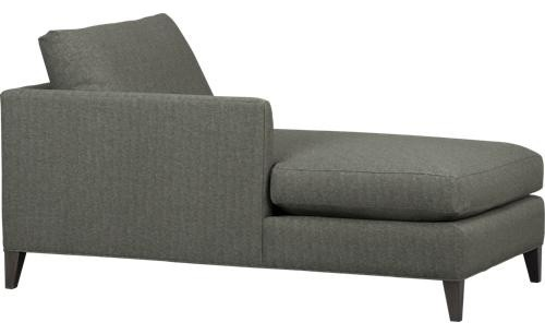 Klyne II Left Arm Sectional Chaise Contemporary Indoor Chaise Lounge Chairs