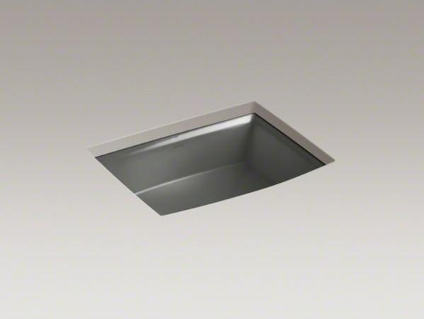 KOHLER Archer(R) undermount bathroom sink contemporary-bathroom-sinks