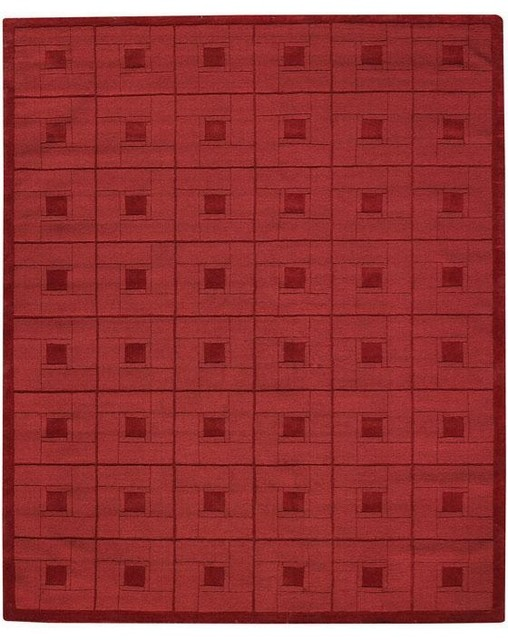 Martha stewart living square knot area rug traditional for Martha stewart rugs home decorators