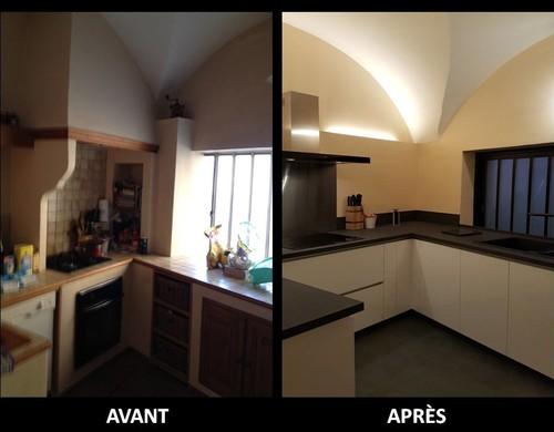 R novation de cuisine d couvrez les photos avant et apr s - Renovation cuisine avant apres ...