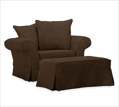 Charleston Chair And A Half Slipcover Everydayvelvet