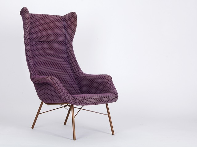 mobilier vintage violet classique chic fauteuil other metro par design market. Black Bedroom Furniture Sets. Home Design Ideas