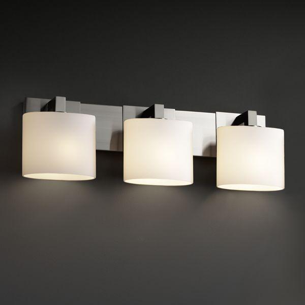 Bathroom Vanity Light Bar : ... Modular 3-Light Bath Bar Fusion Collection bathroom-vanity-lighting