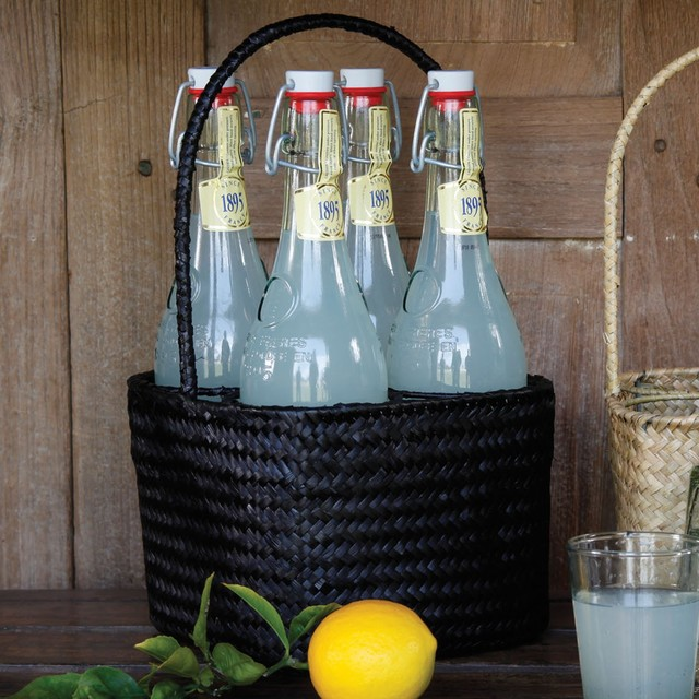 Seagrass Beverage Holder - Contemporary - Baskets - other ...