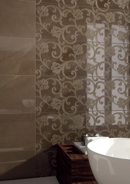 Deluxe collection marca corona classico piastrelle for Piastrelle bagno parete