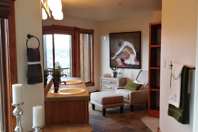 Master Bathroom R Stico Denver De Affordable Design