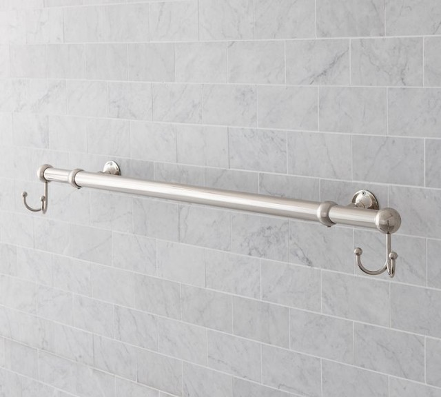 sussex oversized towel bar modern towel bars and hooks by