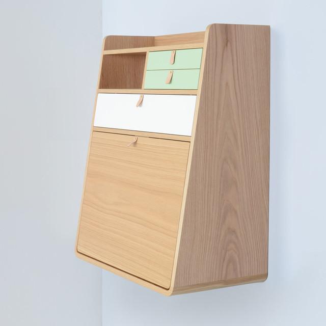 Gaston Wall Bureau by Harto - Contemporary - Desks & Writing Bureaus