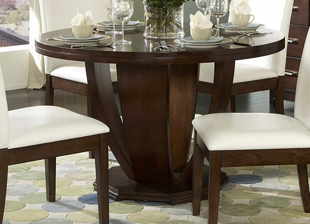 elmhurst round dining table transitional dining tables