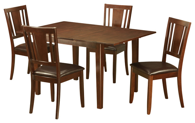 Psdu mah kitchen table set contemporary dining sets for Modern dining sets for small spaces