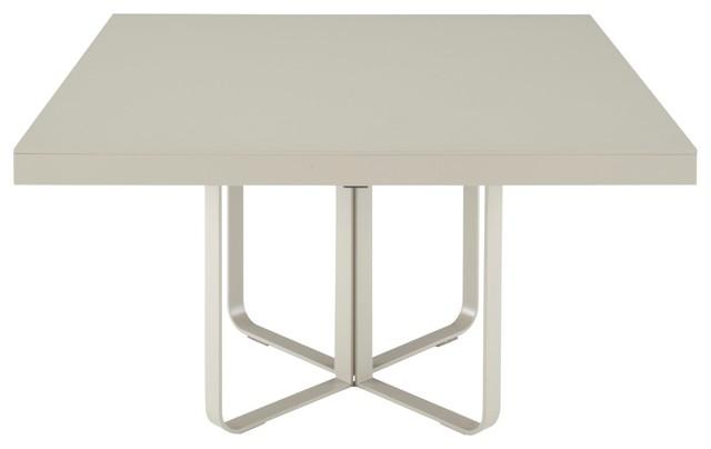 Ava dining table square by ligne roset contemporain for Table salle a manger ligne roset
