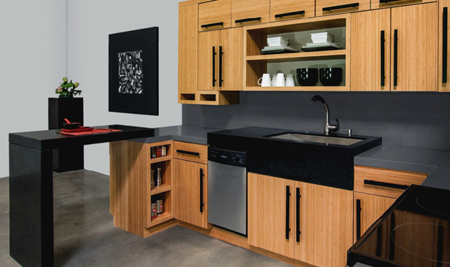 Bamboo natural slab for Bamboo kitchen cabinets australia