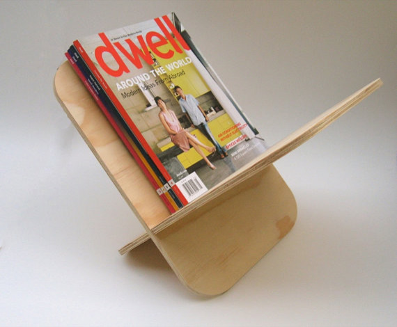 contemporary magazine racks 3