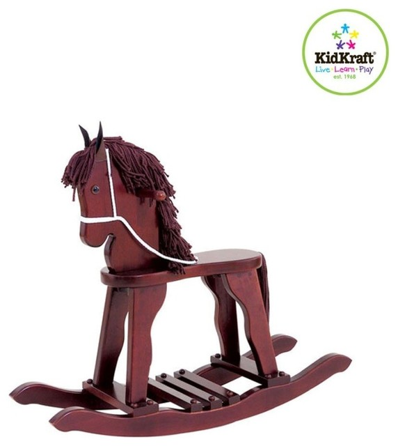 Derby Rocking Horse Cherry By Kidkraft Contemporary Kids Chairs By The