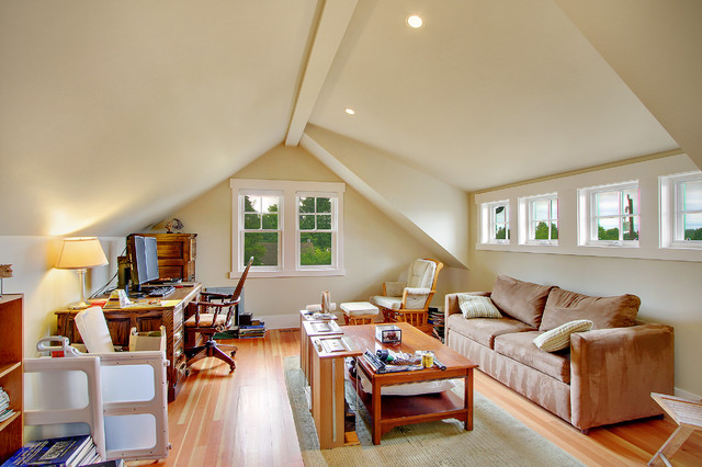 Greenlake craftsman for Bonus room truss design