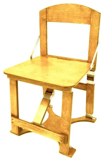 Spiderlegs Hand Crafted Custom Folding Chair Golden Oak Fällbara utestolar