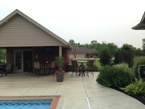 Help with pool house addition for Pool house additions