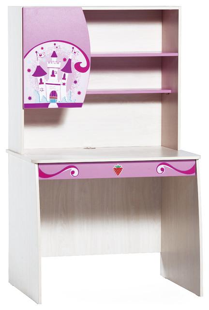 Princess Study Desk Modern Kids Desks And Desk Sets