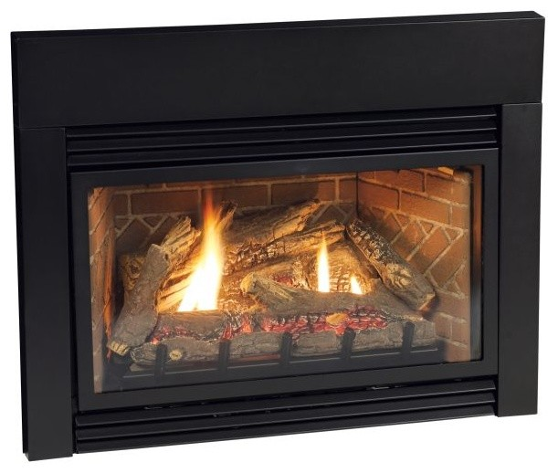 Fireplace Insert Surround Bottom Cover For Sc256bl And S256bl Modern Fireplace Screens By