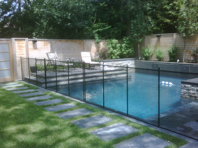 Pool fence contemporary toronto by guardian