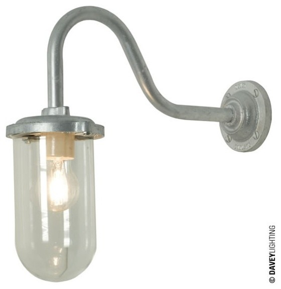 Davey Exterior Wall Lights : Davey 7672 Bracket Light 100W - Industrial - Outdoor Wall Lights - south east - by Peter Reid ...