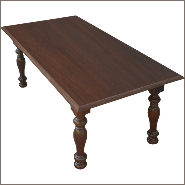 Farmhouse Solid Wood Dining Room Table for 6 Furniture Traditional Furnit