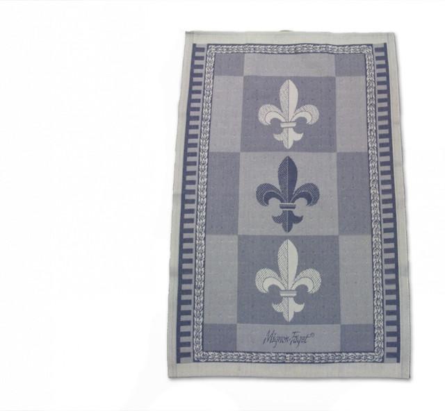 Fleur de lis hand towel bath towels new orleans by mignon faget - Fleur de lis bath towels ...