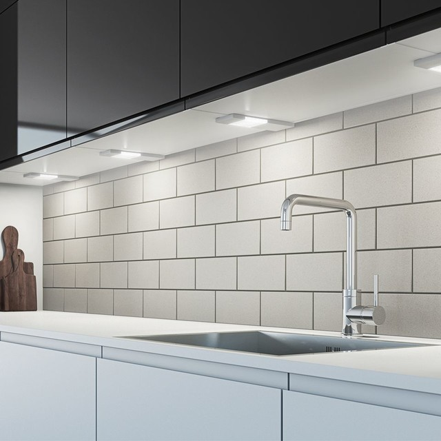 Kitchen Under Cabinet Strip Lighting: Slim Profile SLS LED Under Cabinet Strip Light