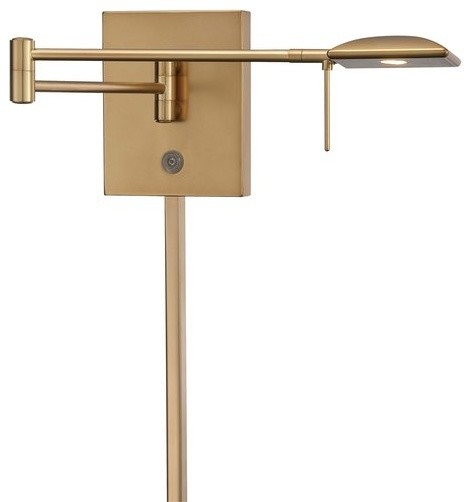 Kovacs P4328-248 LED Swing Arm Wall Sconce - Traditional - Swing Arm Wall Lamps - by Buildcom