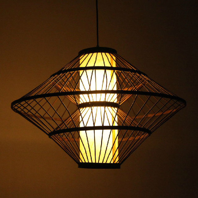 modern bamboo and parchment shade pendant lighting asian pendant lighting asian pendant lighting