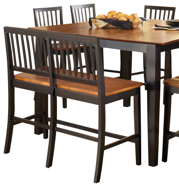 counter height bench traditional dining benches by beyond stores