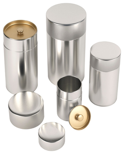 kotodo storage cans contemporary kitchen canisters and