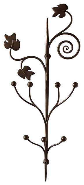 Caporali Pruno Wall Hook - Mediterranean - Wall Hooks - by TUSCAN ...