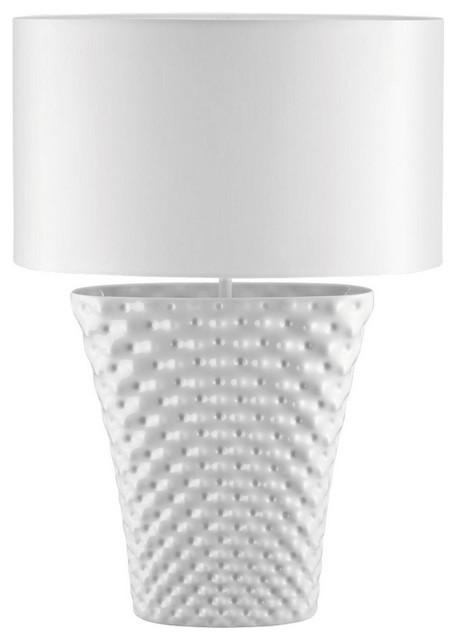 vibrations wei tischlampe 58 cm. Black Bedroom Furniture Sets. Home Design Ideas