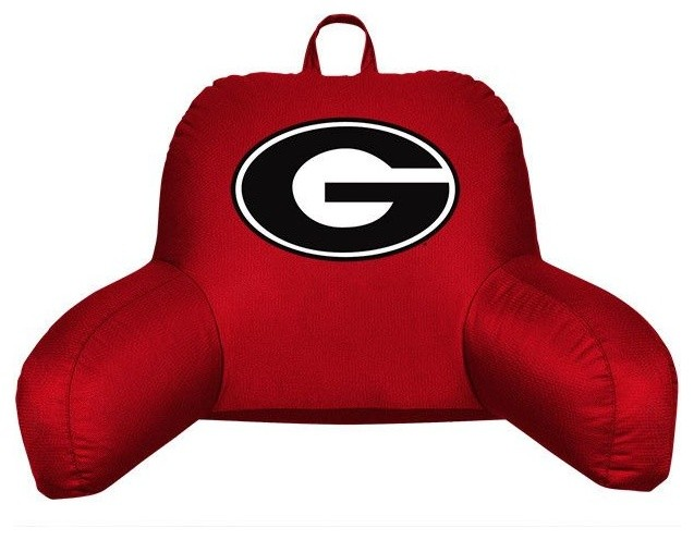Georgia Bulldogs Bed Rest Back Support Pillow