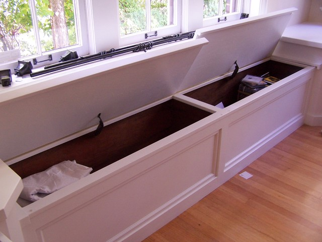 Window seat with corner cabinets - Modern - denver - by ...