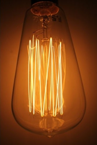 thomas edison light bulb industrial incandescent bulbs. Black Bedroom Furniture Sets. Home Design Ideas