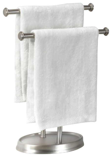 Umbra Palm Double Hand Towel Tree Nickel Plated Finish